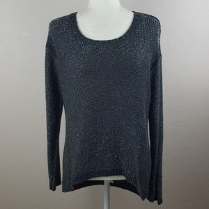 Design Lab by Lord & Taylor - Metallic Sweater